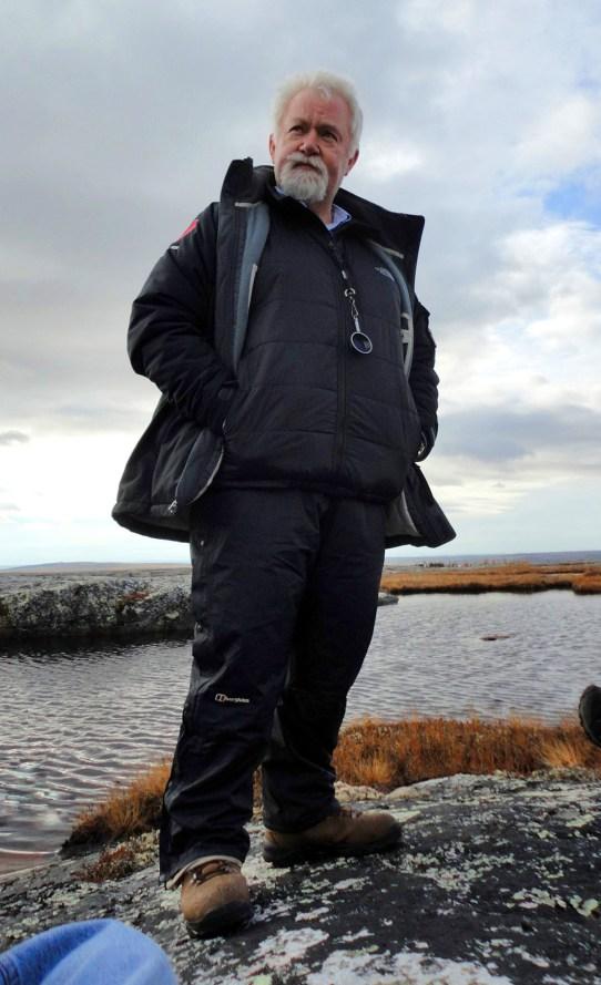 David Eggby in Kujjuuaq Quebec, RIDDICK, 2011.