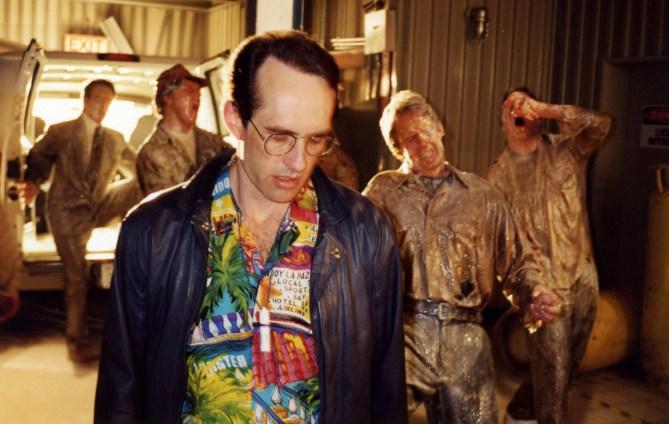 David Twohy with Frozen Actors, ARRIVAL, 1995.