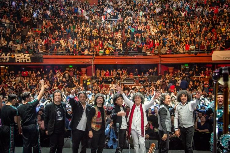 Illapu Teatro Caupolicán 2018