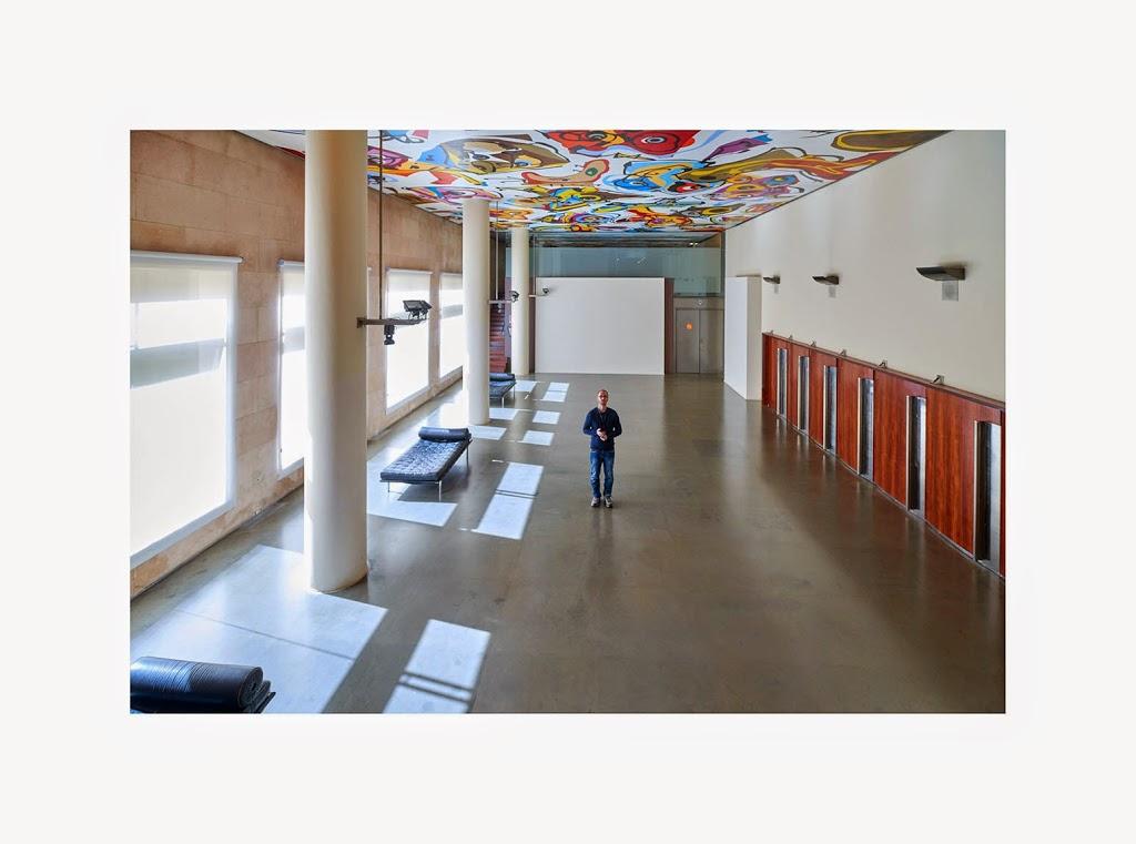 Autorretrato de arquitectura bajo una perspectiva artística
