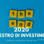 Investimenti: 7 lezioni dal 2020