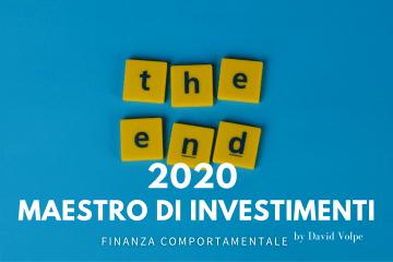 2020 LEZIONI DI INVESTIMENTO