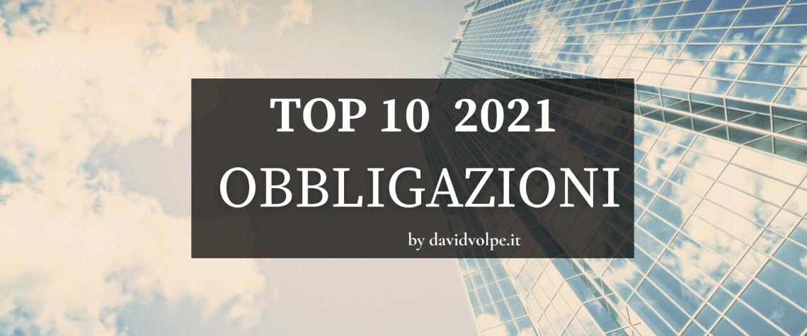 TOP TEN ETF OBBLIGAZIONARI