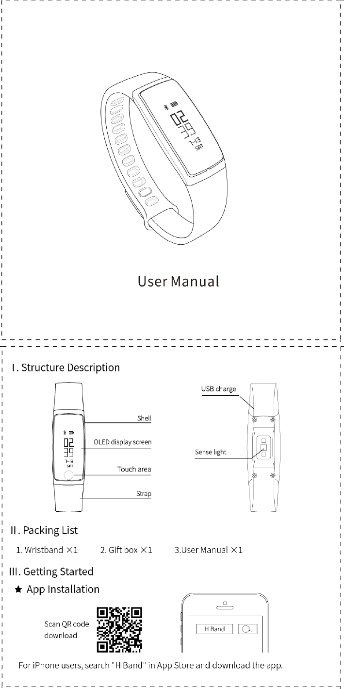 Kathmandu heart rate monitor instruction manual