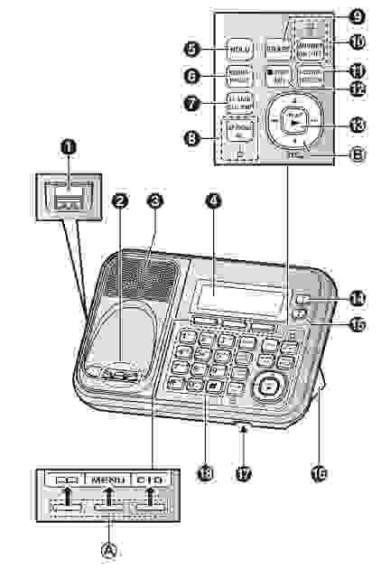 Panasonic kx tg6823 user manual