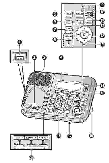 Panasonic kx tg6823 user manual