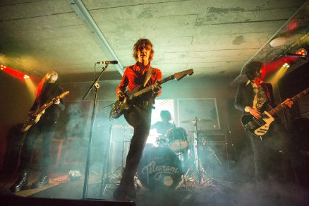 Telegram, perform at Headrow House, Leeds, 22nd February 2016