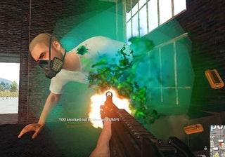 PUBG Green Blood Screenshot