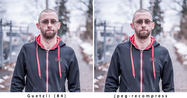 Optimized image comparisons