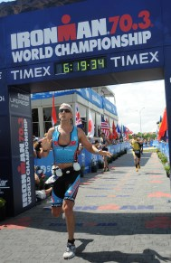 Vegas 70.3 Finish Line