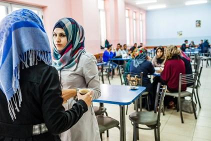 University cafeteria. Hebron, 2013.