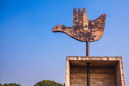 Open Hand Monument. Chandigarh, 2013.