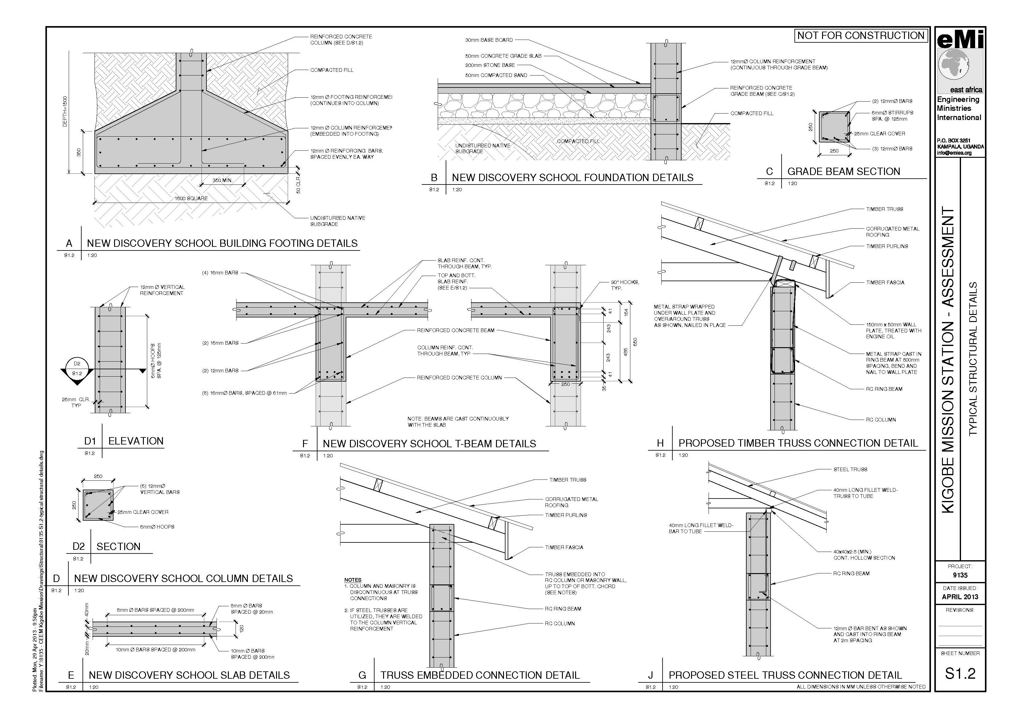 S1 2 Typical Structural Details