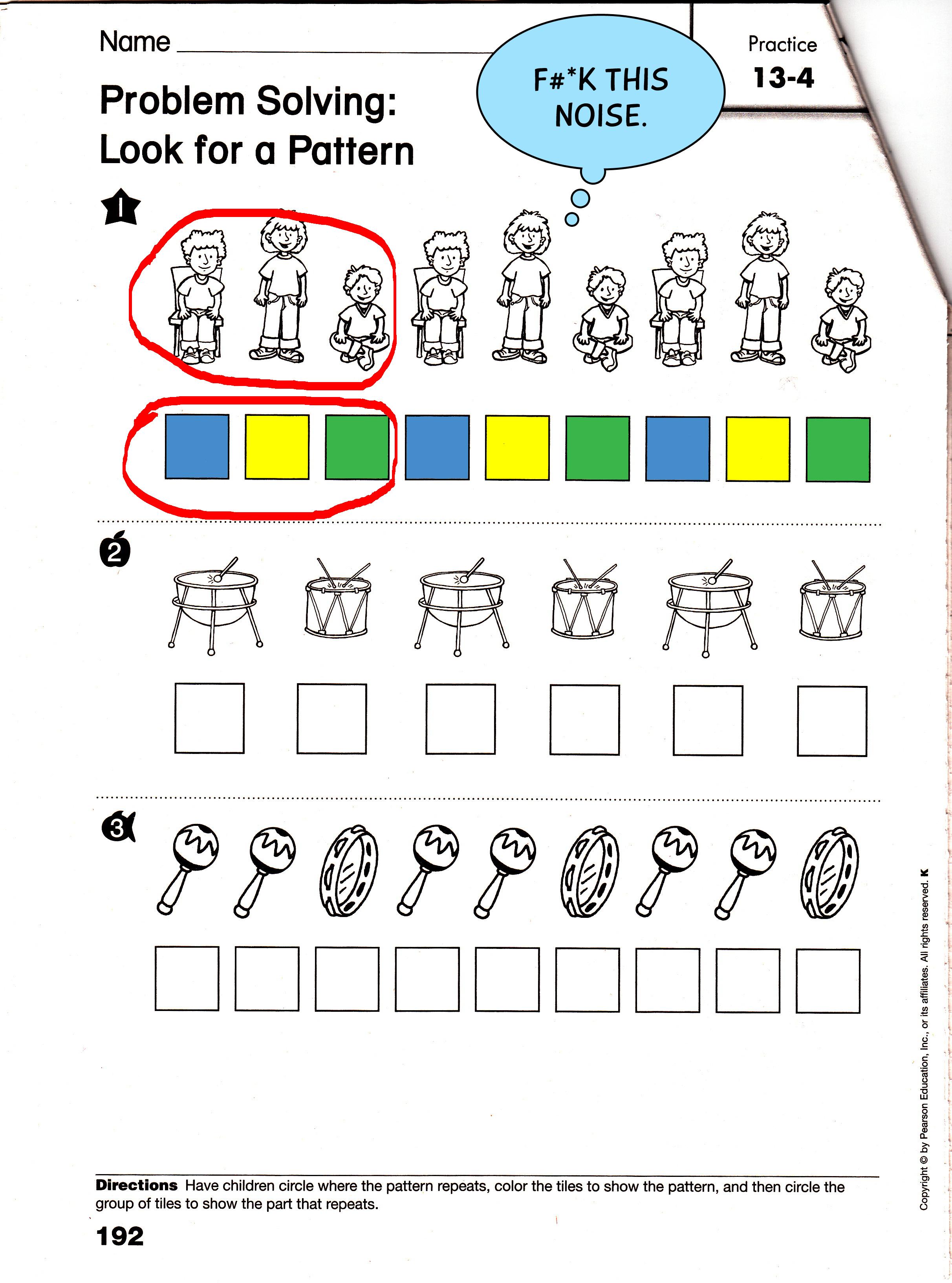 Kindergarden Homework