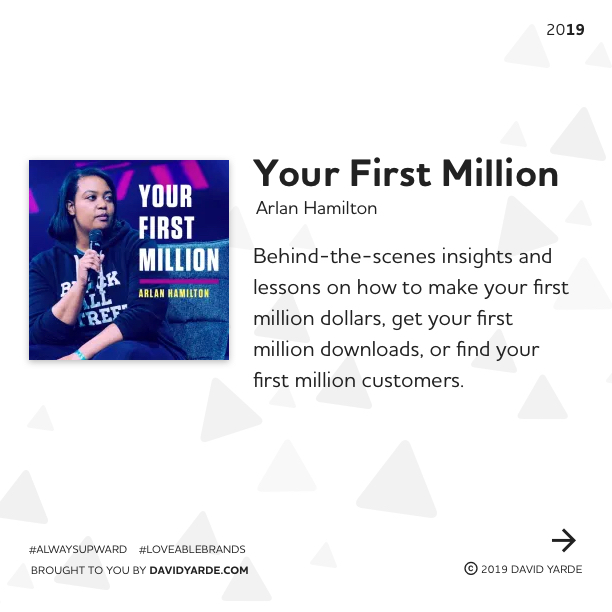 Your First Million by Arlan Hamilton