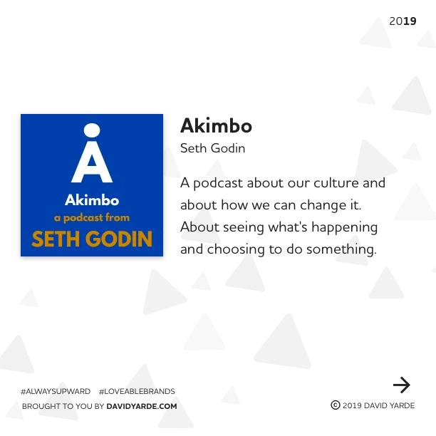 Akimbo - A podcast on culture by Seth Godin