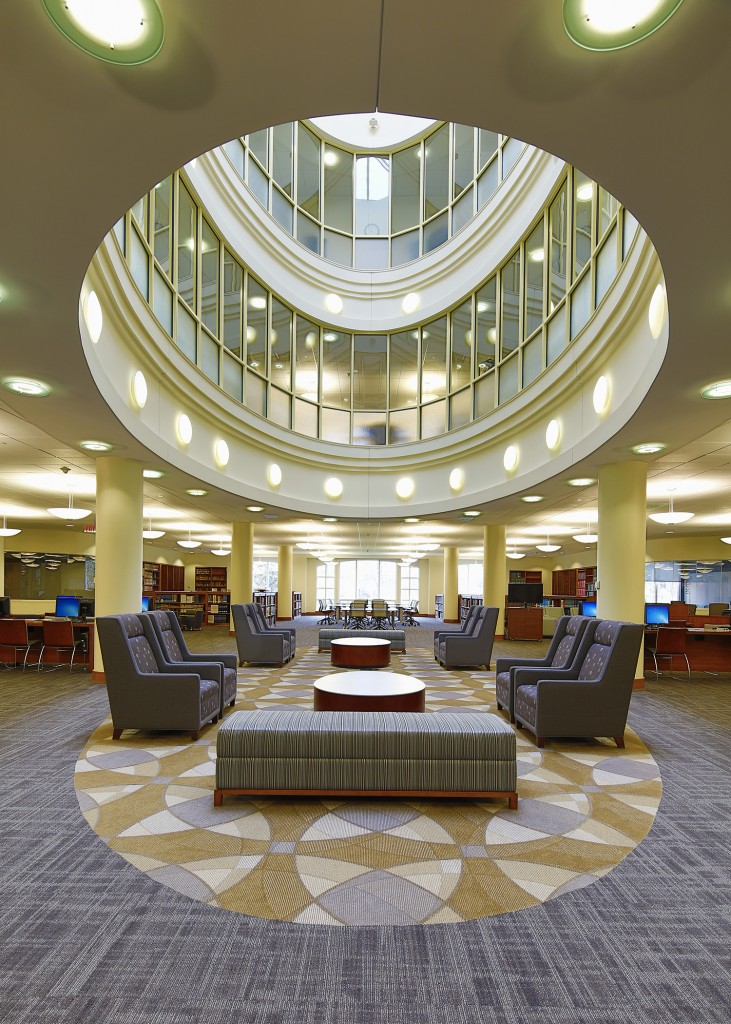 Elon University Belk Library Davie Construction