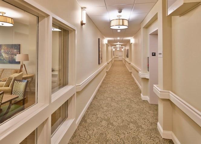 Apartment Hallway Davie Construction
