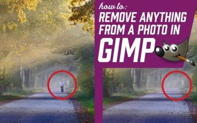 How to Remove Anything from a Photo in GIMP