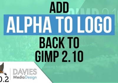 Add Alpha to Logo Features Back Into GIMP 2.10