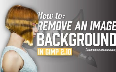 How to Remove an Image Background in GIMP 2.10 (Solid Background)