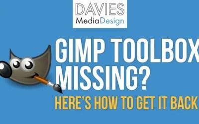 क्या आपका GIMP टूलबॉक्स गुम है? हाउ हाउ टू गेट इट बैक