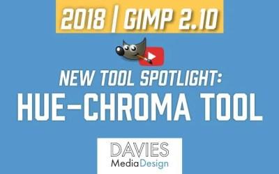 GIMP 2.10 नया टूल स्पॉटलाइट: ह्यू-क्रोमा टूल