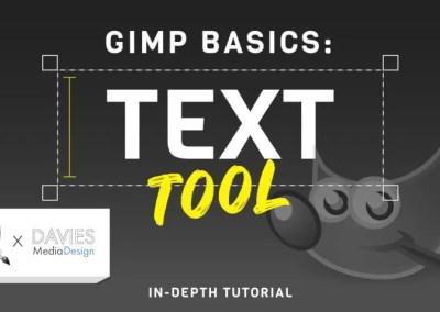 GIMP-basis: basisbewerkingsprogramma voor teksttools