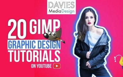 YouTube पर शीर्ष 20 GIMP ग्राफिक डिज़ाइन ट्यूटोरियल