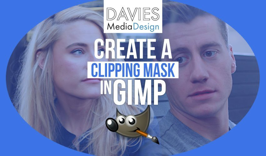 How to Create a Clipping Mask in GIMP 2019