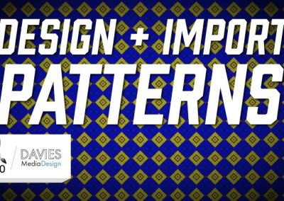 Design + Import Patterns Easily | GIMP 2.10.10 Tutorial