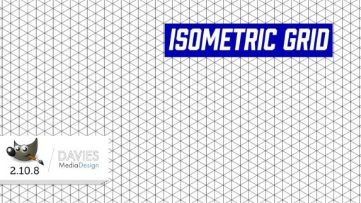How to Create an Isometric Grid in GIMP 2.10