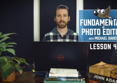 Fundamentals of Photo Editing | Lesson 4 | Scaling & Cropping Your Image