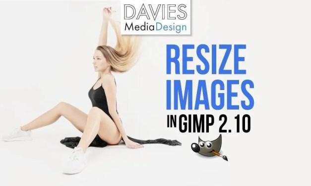 Come ridimensionare un'immagine in GIMP 2.10