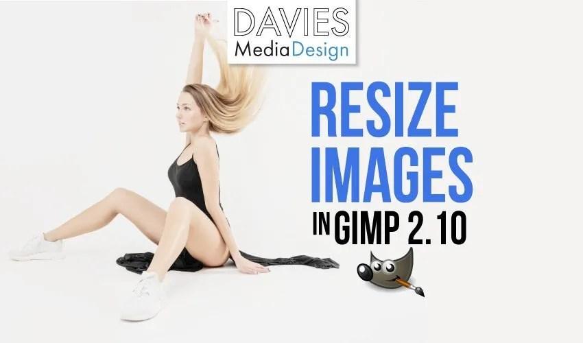 GIMP 2.10で画像のサイズを変更する方法