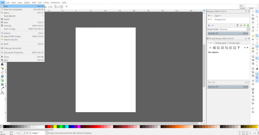 Final Inkscape platno Adobe Illustrator Artboard