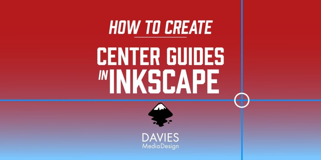 Come creare le guide del centro in Tutorial di Inkscape
