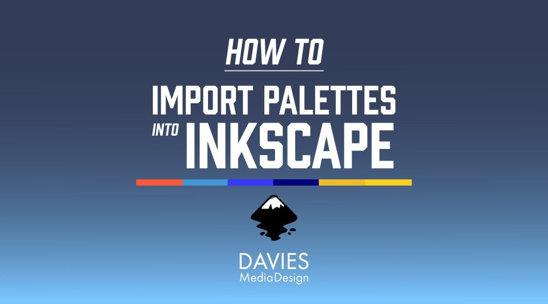 How to Import Palettes Into Inkscape