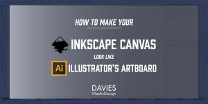 How to Make Inkscape's Canvas Look Like Adobe Illustrator's Artboard