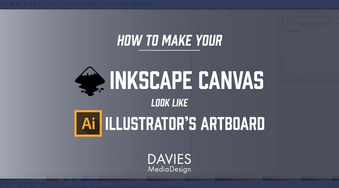 Adobe Illustrator의 대지처럼 Inkscape Canvas를 만드는 법