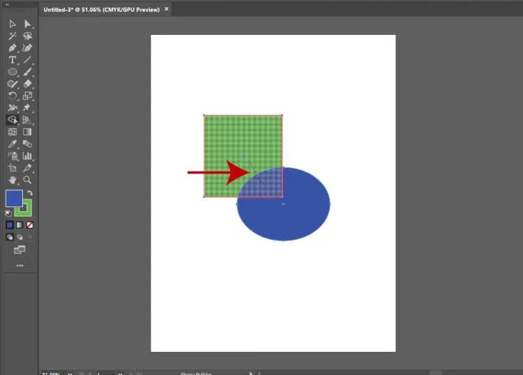 Apvienojiet formas ar Illustrator Shape Builder Tool