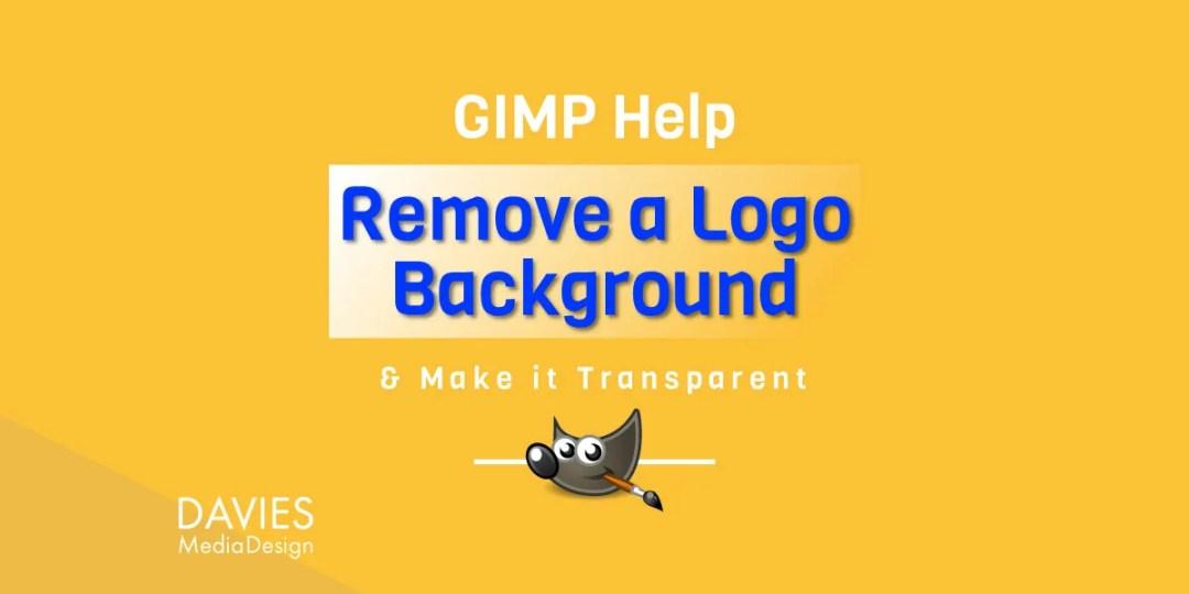 Nápověda GIMP: Odstraňte pozadí loga JPEG z článku GIMP Tutorial