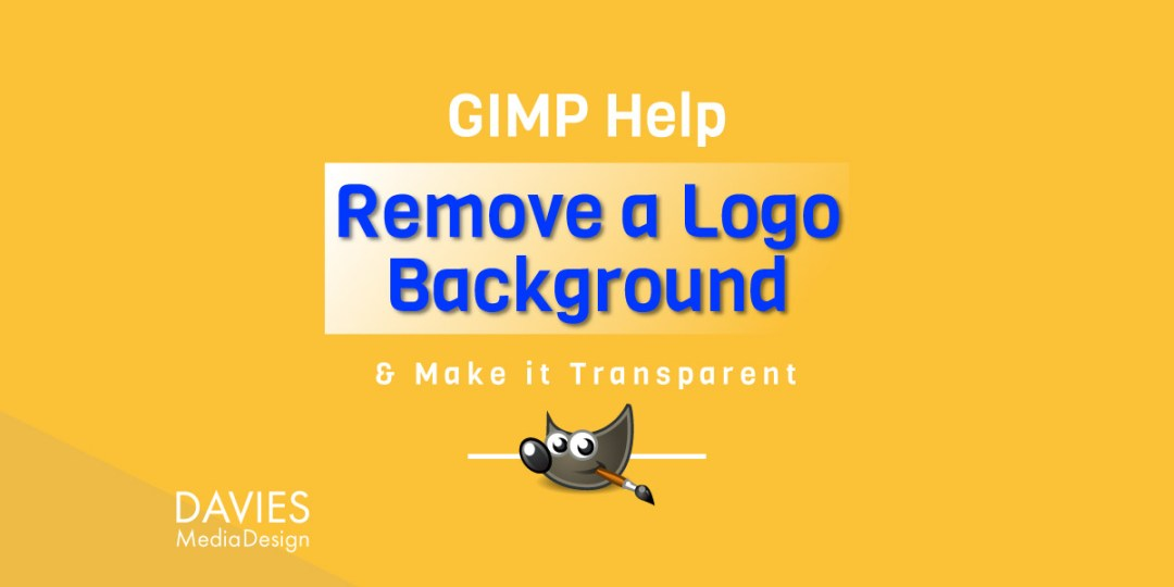 GIMP Help: Entfernen des JPEG-Logo-Hintergrunds im GIMP Tutorial-Artikel