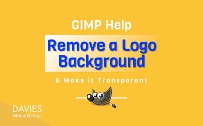 Uklonite pozadinu bijelog logotipa i učinite je transparentnom u GIMP-u