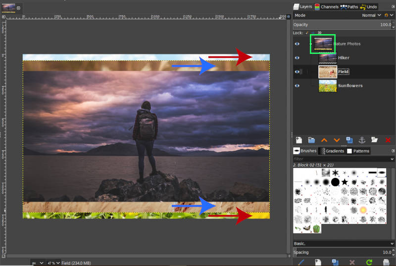 Layer Group Thumbnail Updates Based on Layers