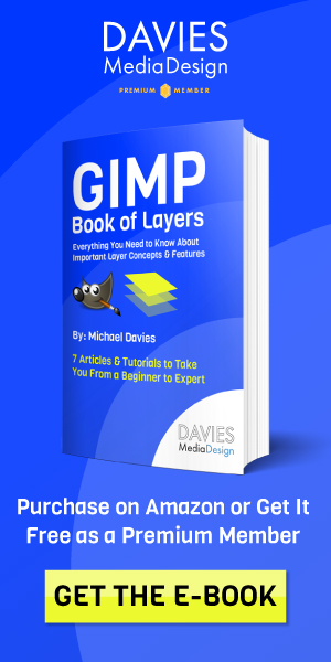 GIMP Book of Layers Now Available on Amazon Ad
