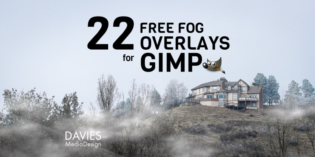 22 Free Fog Overlays for GIMP Download