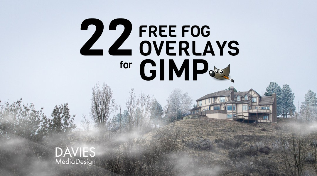 22 FREE Fog Overlays for GIMP in HD