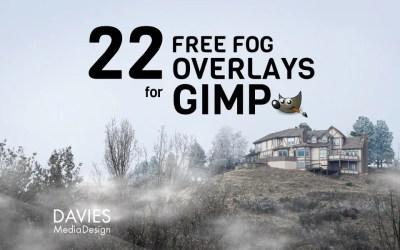 BESPLATNI prekrivači magle za GIMP u HD-u