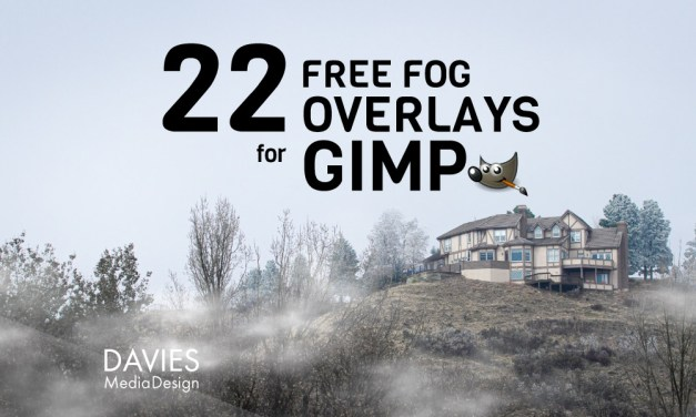 22 GRATIS mistoverlays voor GIMP in HD